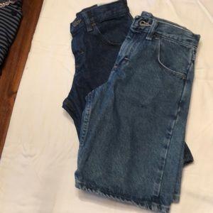 Rustler boys denim  jean shorts bundle of 2